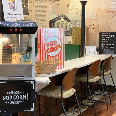 Popcorn Fridays at Waldo State Bank!