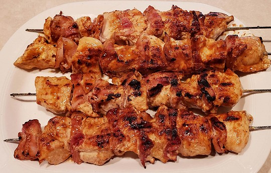 Recipe for Success: BBQ Whiskey Chicken Skewers